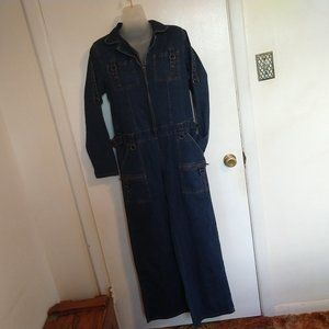 Denim Boilersuit Jumpsuit L StarWear  D-Rings